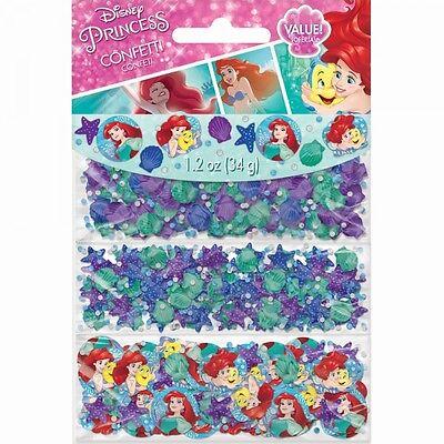 ARIEL THE LITTLE MERMAID Dream Big CONFETTI VALUE PACK ~ Birthday Party Supplies