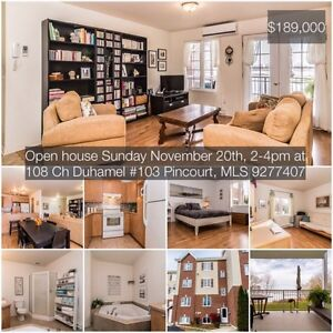 Open house today in Pincourt!