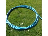 Blue water pipe 17.5m