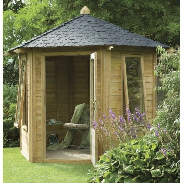 Forest Garden Henley Summer House with Shingle Roofing