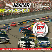 NASCAR in Michigan BUS TRIP from London $100 OFF!