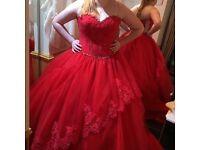 wedding dress (Mari lee)