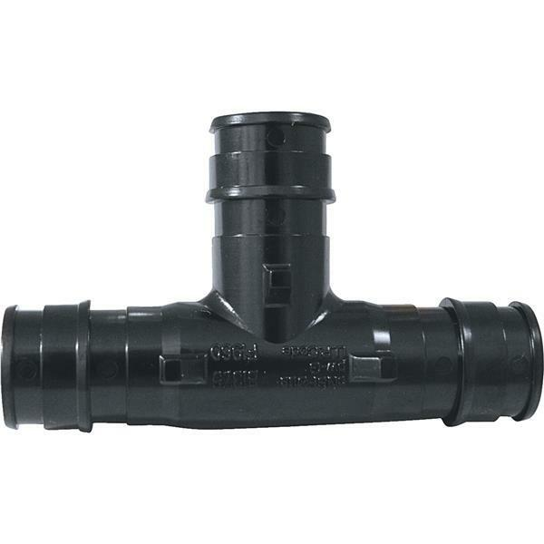 """5 Pack PEX Pipe Poly-Alloy 1/2"""" Insert Fittings Type A Tee @"""