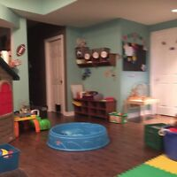 South/East Barrie Daycare on Leggott Ave - 2 spots