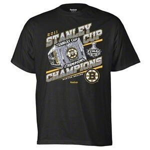 Boston Bruins 2011 Nhl Stanley Cup Champions T Shirt Small
