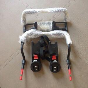 Adaptateur siège auto  pour poussette city select/premier