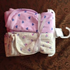 Brand  New! Carters 3 Piece Outfit & Swaddle Blankets Peterborough Peterborough Area image 3