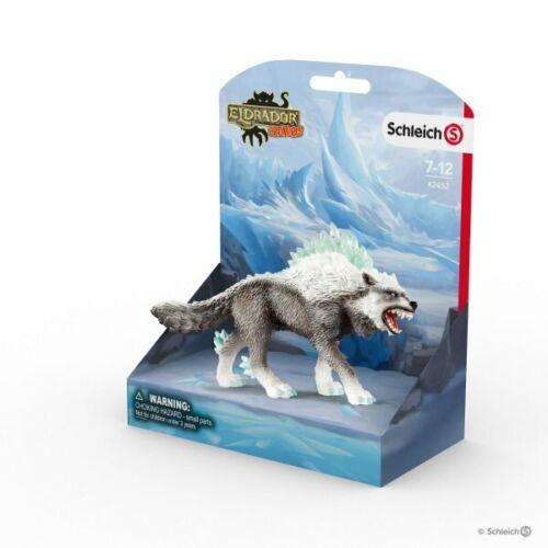 <><  Snow Wolf  42452 Schleich  Stunning  Eldrador strong tough