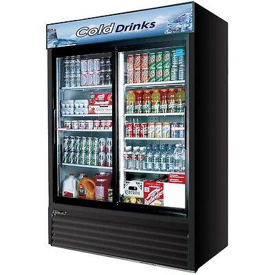 2 Door Commercial Refrigerator 2 Glass Sliding Door Merchandiser Refrigerated