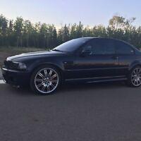 2005 BMW E46 M3 in Carbon Black