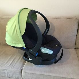 Stokke Xplory plus Stokke car seat