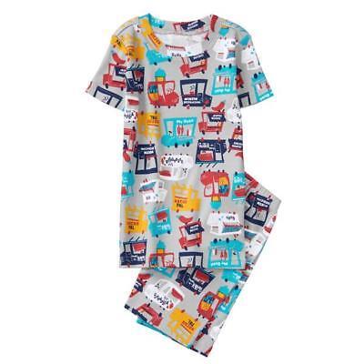 NWT Gymboree Boys gymmies Pajama set Food Truck Shortie many sizes - Boys Food