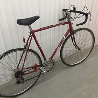 Moving sale: red pro tour road bike