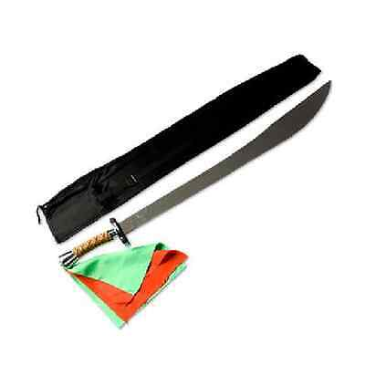 Chinese Wushu Flexible Broadsword Kung Fu Martial Arts Weapon and Case