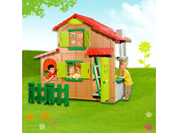 Deluxe Smoby two storey playhouse