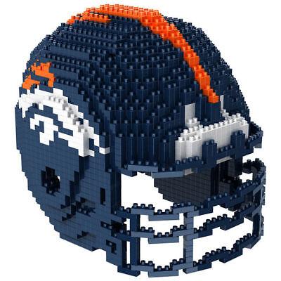 NFL Denver Broncos 3D BRXLZ Puzzle Helm Helmet Set Football Footballhelm