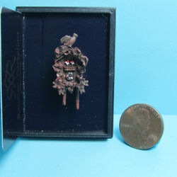 Dollhouse Miniature Reutter Black Forest Wall Clock 1.393/5