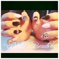 Pose d'ongles soins des pied