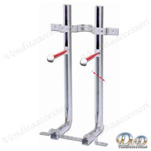 Staffe universale per montaggio fissaggio sanitari sospesi for Staffe pieghevoli