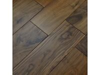 American black walnut engineered flooring (random lengths)