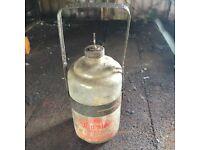 Retro vintage fireside oil burner heater industrial