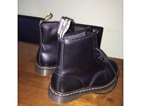 Genuine Men's Dr Martin boots. Bought for £120 will sell for £50!! Worn only once