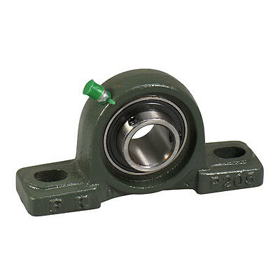 Ucp206-18 1-18 Pillow Block Bearing Unit With Solid Base Cast Iron Housing Fk