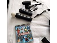PlayStation Move with Playstation Eye and Sports champions game