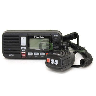 West Marine Vhf580 Jis8 Safety Lcd 13790845 Black Fixed Mount Vhf Radio Class D