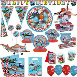 disney planes kindergeburtstag party deko cars flugzeug kinderparty geburtstag ebay. Black Bedroom Furniture Sets. Home Design Ideas