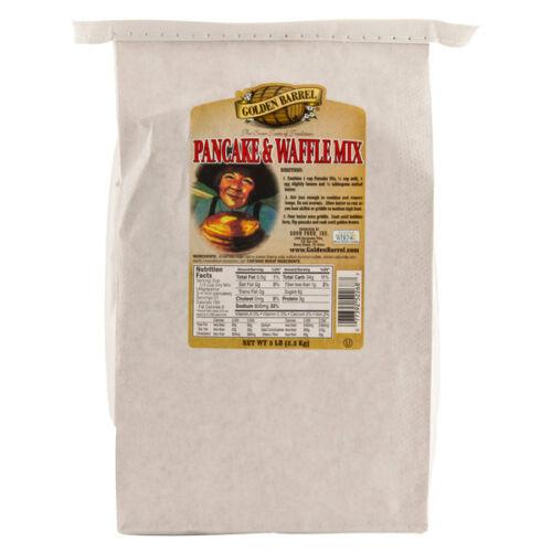 Golden Barrel Premium Pancake & Waffle Mix 5 lb. Bag