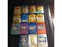 limited edition simpsons head dvd box set