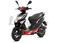 Brand New 2020 Lexmoto Echo 50 Moped, Free £100 helmet included