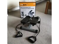 Exercise Stepper with Resistance Cords - RRP £90 - Barely Used - Fitness