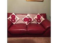 Red sofa for sale