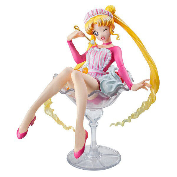 Anime Sailor Moon Usagi Tsukino 20th Anniversary limit PVC Figure Toy New N B