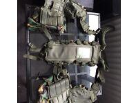 Army webbing vest