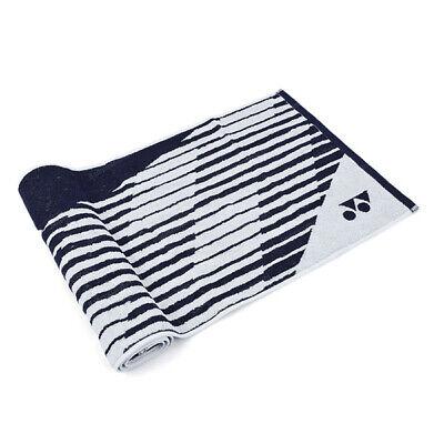 Yonex Sports Towel Badminton Tennis Navy Cotton 100% 116cm x 40cm 99TW001U