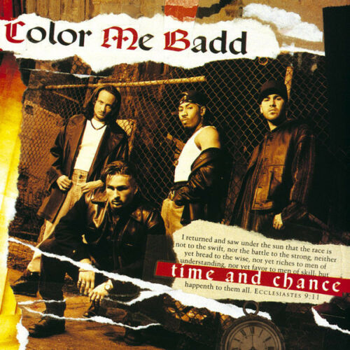 Color Me Badd ‎– Time And Chance New Mint Sealed, Cd With Booklet
