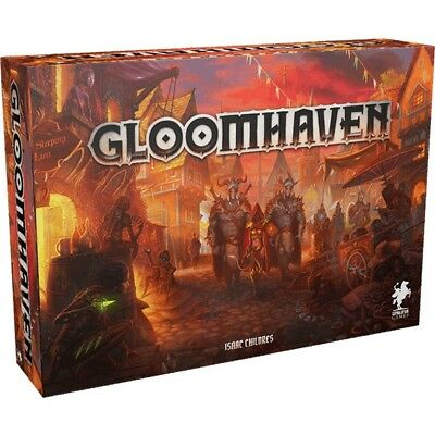 Gloomhaven  Board Game  Cephalofair Games  Miniatures  Fantasy  Tactical Combat