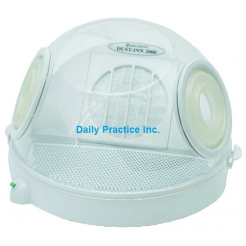 Deldent Dust-Inn 2000 Dust Collector REPLACEMENT SHELL DOME w/ Handguards 502602
