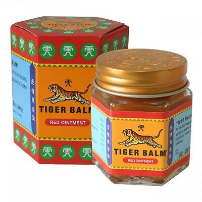 30G Tiger Blam Red Pain Relief Ointment Muscle Aches Rub Sprains Massage Herbal