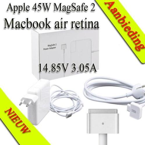 45w adapter voor apple macbook air retina a1465 a1466