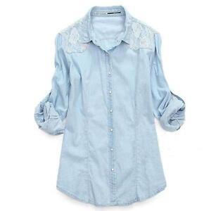61e6fdfa049dc Women s Vintage Denim Shirts