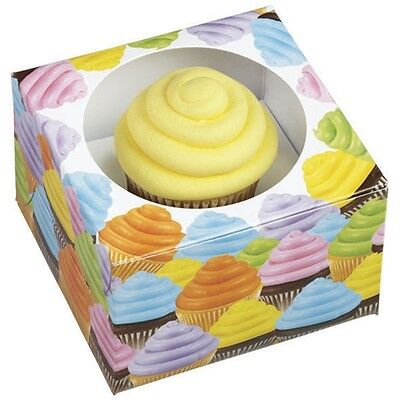 Wilton Treat Boxes (Cupcakes Single Cupcake Treat Boxes 3 ct from Wilton #2375 -)