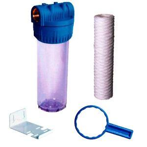 Filtro de agua completo para entrada de casa o jardin ebay - Filtro de agua para casa ...