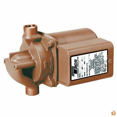 Central Boiler Taco 006-b4 Bronze Circulating Pump 110 Volt 34 Swt 175
