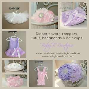 Boutique Items: headbands, diaper covers, tutus and more London Ontario image 2
