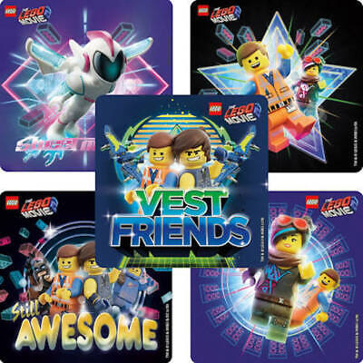 25 LEGO The Movie: part 2   Stickers Party Favors Teacher Supply Vest - The Lego Movie Party Supplies