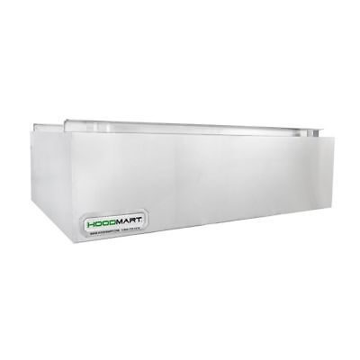 Hoodmart 6 X 48 Type 2 Commercial Kitchen Heat And Fume Hood